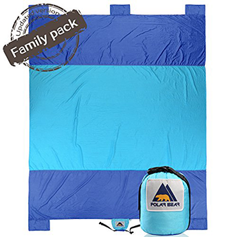 Polar Bear Beach Blanket