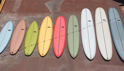 different types of boards