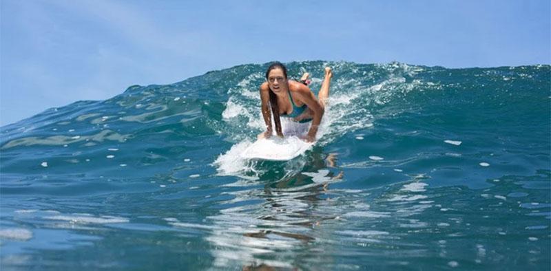 Pop Up Surfing
