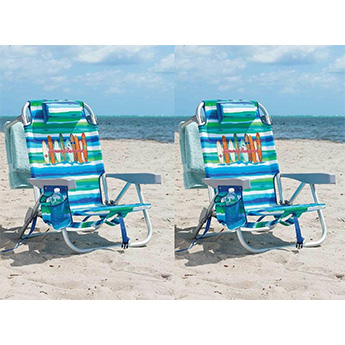 Tommy Bahama 2 Set Beach Chairs