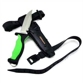 Promate Scuba Dive Snorkel Titanium Knife