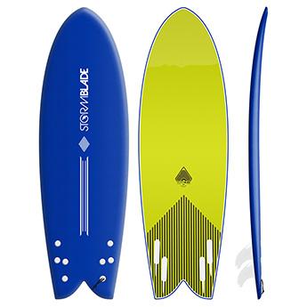 StormBlade 5ft8 Modern Retro Fish Surfboard