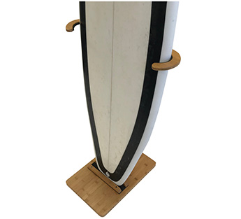 Bamboo Surfboard Stand