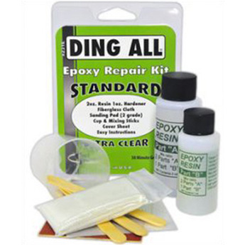 Standard surfboard ding repair kit