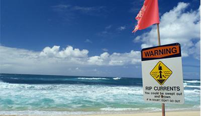 rip current warning