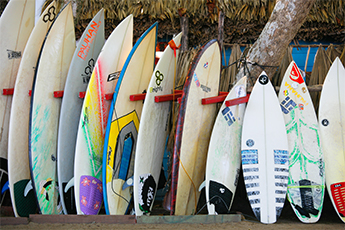 Fiberglass Surfboards