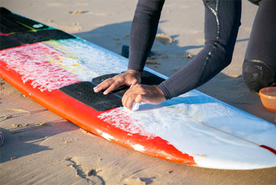 How To Reapply Surf Wax