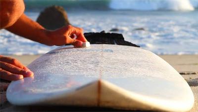 How To Wax A Foam Surfboard