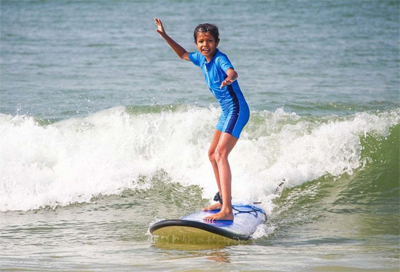 Improve your skill level as a surfer