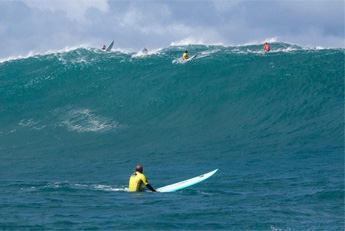 Never Paddle Directly Into The Surf Lineup
