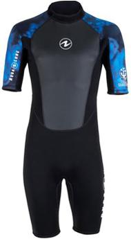 Shorty 3mm spring suit for men